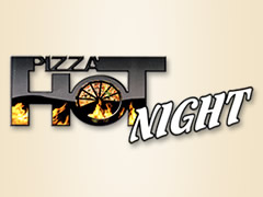 Pizza Hot Night Logo